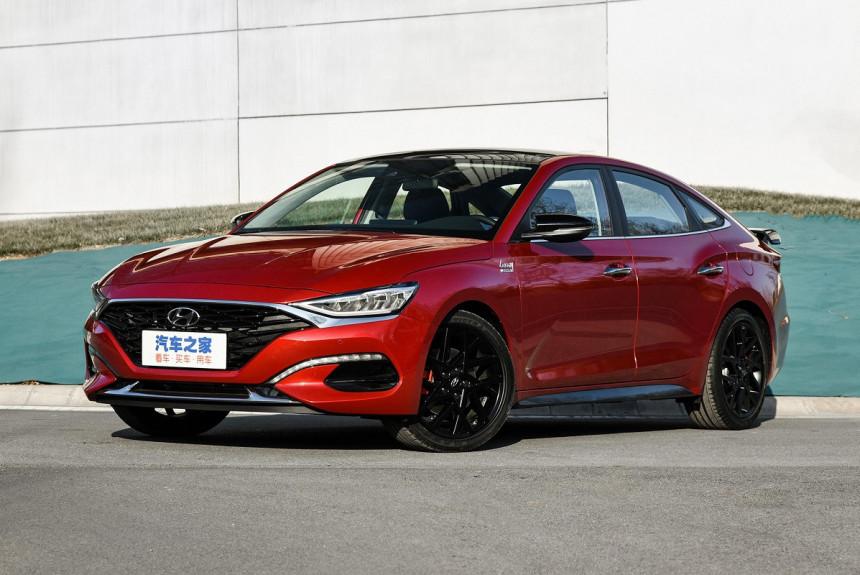 Представлен обновленный седан Hyundai Lafesta