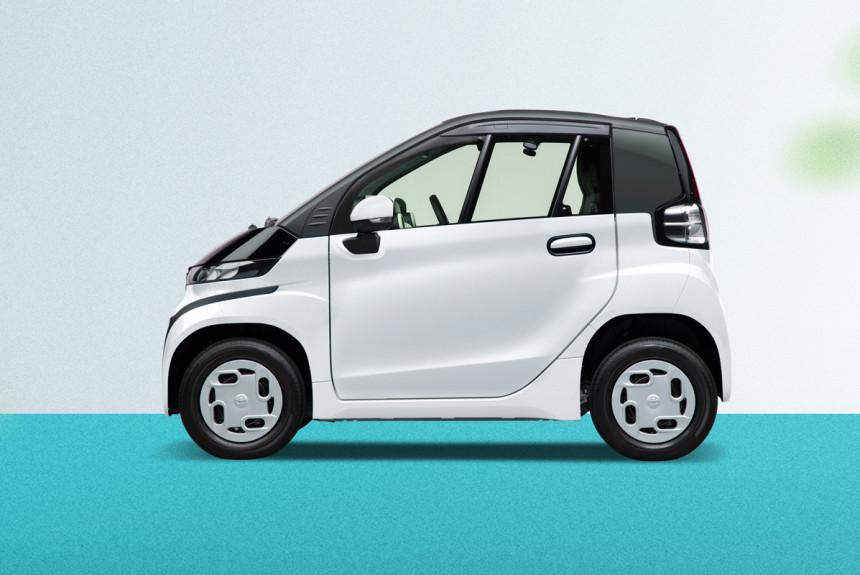 Электромобиль Toyota C + pod вышел на японский рынок — Авторевю