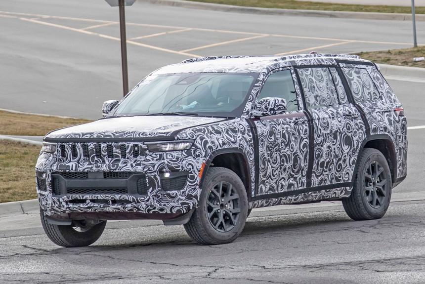 Новый Jeep Grand Cherokee засветился в камуфляже — Авторевю