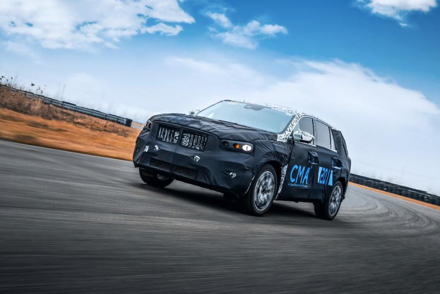 Article 171430 860 575 - На подходе кроссовер Geely KX11 на платформе Volvo