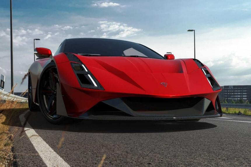Illyrian Pure Sport: среднемоторный суперкар из Албании