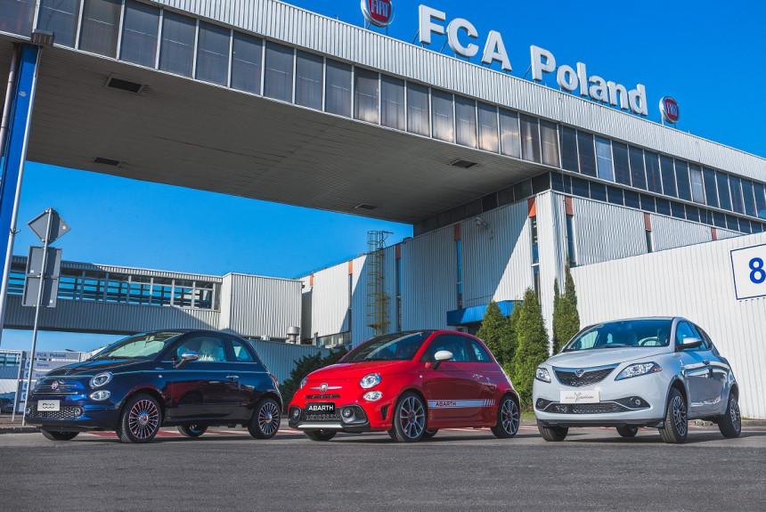 FCA будет выпускать гибриды и электромобили в Польше