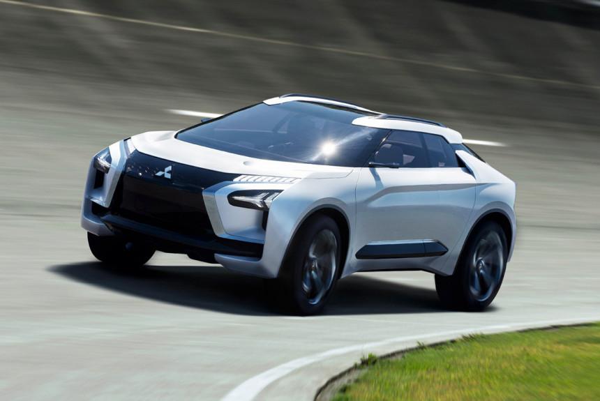 Электрический Evo-кроссовер Mitsubishi: уже скоро
