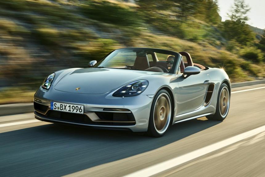 Родстер Porsche Boxster 25 Years отметит юбилей модели