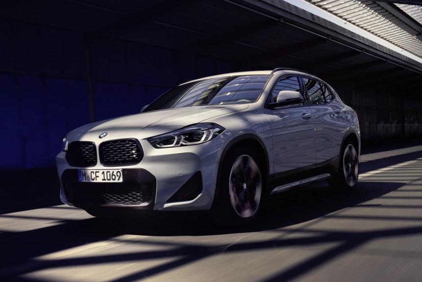 Кроссовер BMW X2 обзавелся модной версией M Mesh Edition
