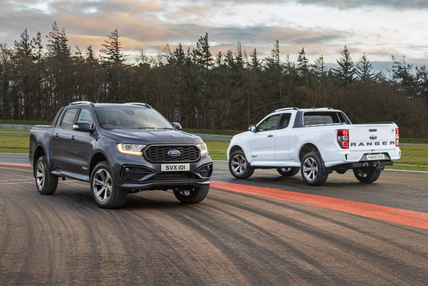 Пикап Ford Ranger MS-RT прикинулся спортсменом