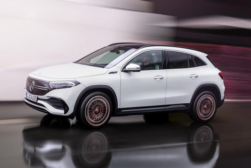 Mercedes-Benz EQA: новый электрический кроссовер на базе GLA