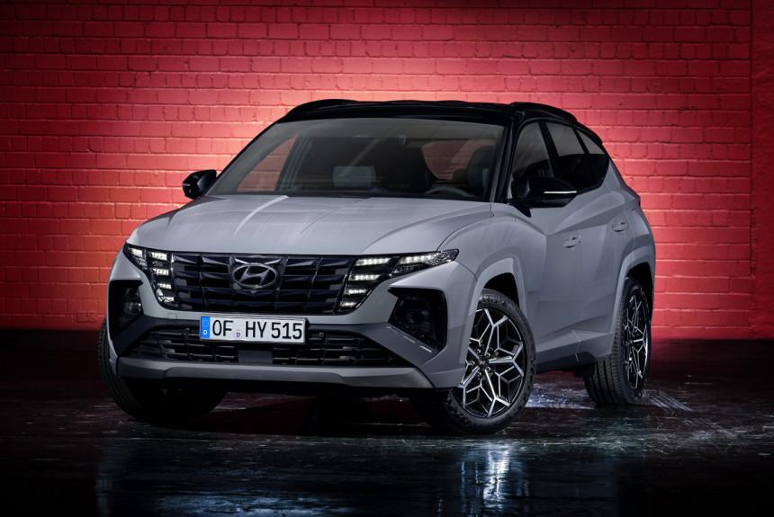 Представлен новый Hyundai Tucson N Line в спортивном стиле