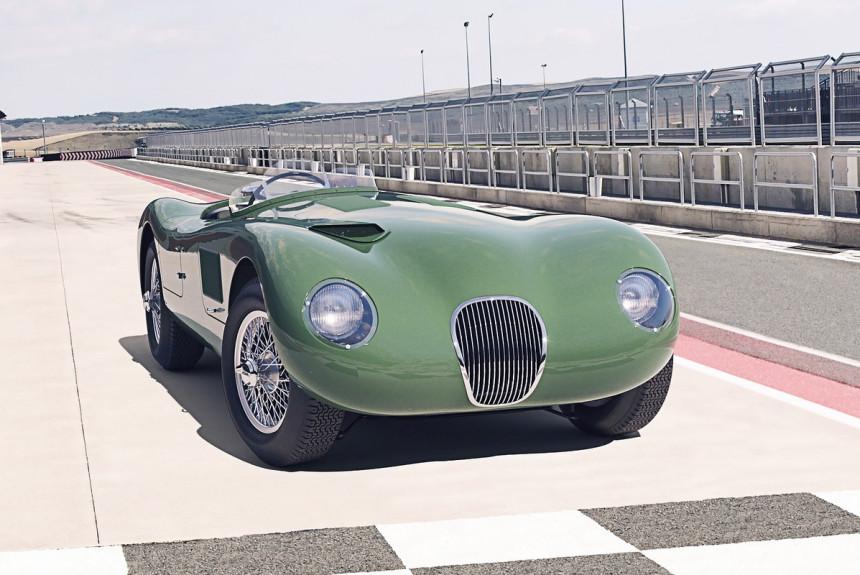 Jaguar C-Type возродили через 70 лет после дебюта