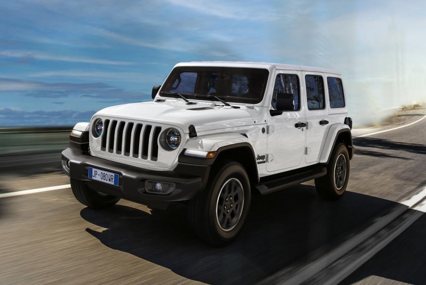 Jeep представил юбилейные модели для Европы