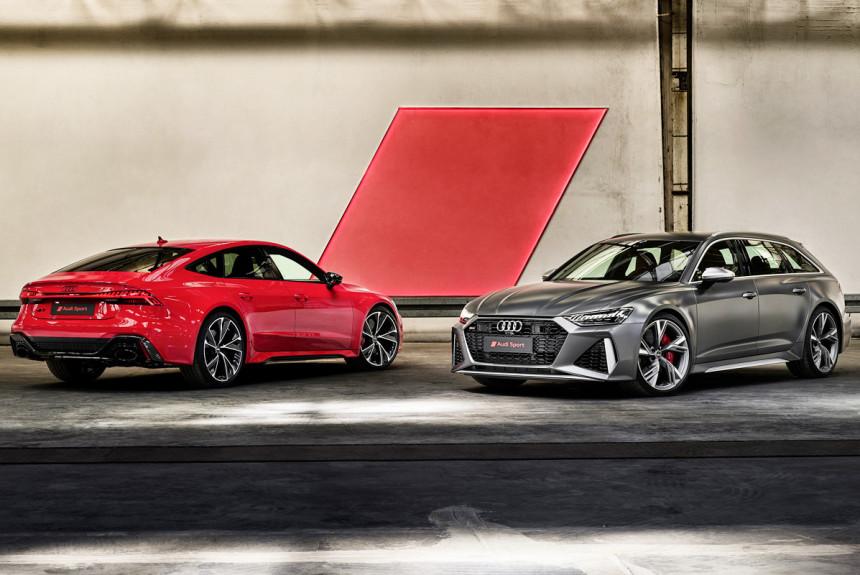 «Заряженные» Audi RS 6 и RS 7: объявлены цены в России