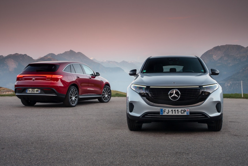 Mercedes-Benz EQC не появится в США и России