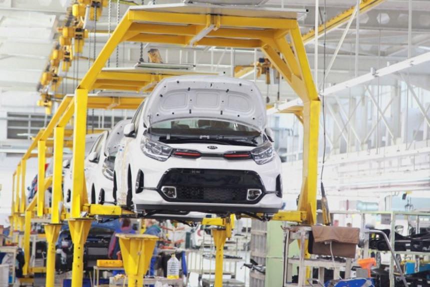 Рестайлинговые Kia Picanto начали выпускать на Автоторе