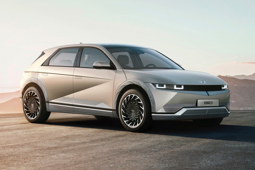 Электромобиль Hyundai Ioniq 5 стал первенцем нового суббренда