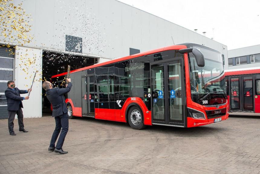 Каунас заказал сотню гибридных автобусов MAN