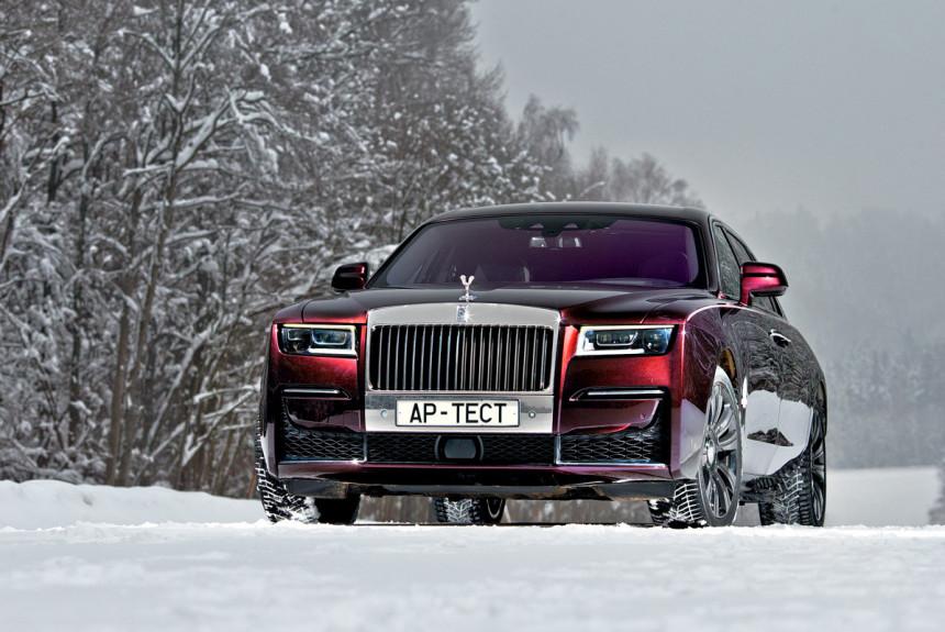 Чем новый Rolls-Royce Ghost потряс Голованова?