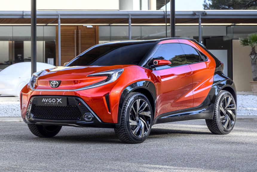 Toyota Aygo X prologue: предвестник нового хэтчбека