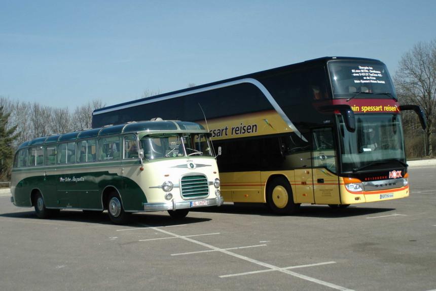 Автобусам Setra 70 лет — чем запомнилась история марки?