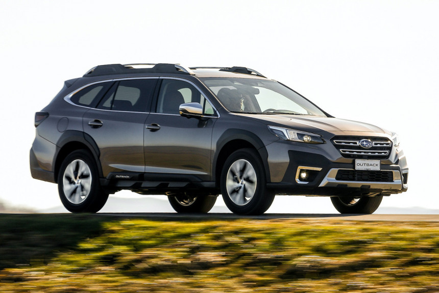 Новый Subaru Outback добрался до Европы