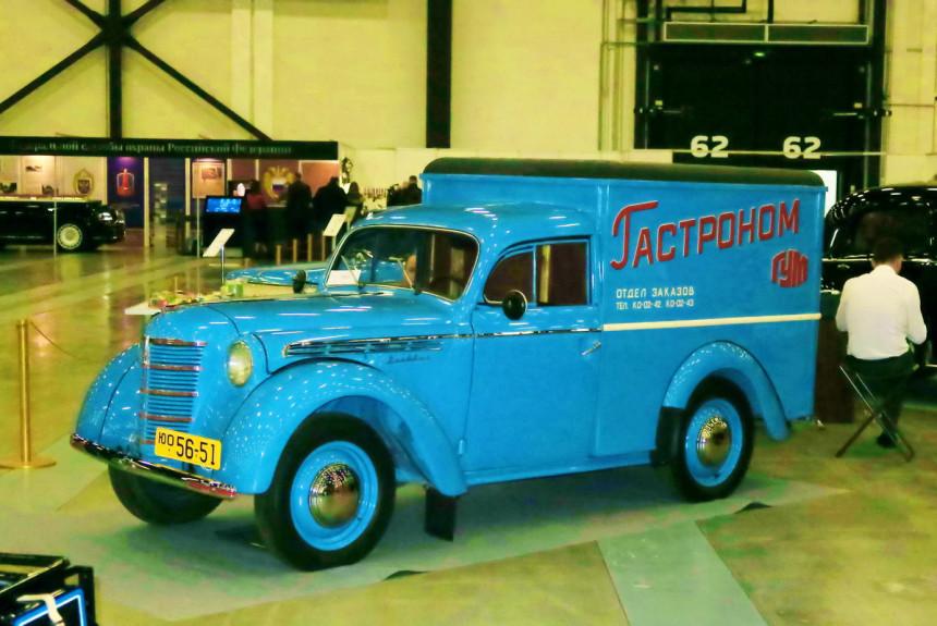 Знакомимся с «грузовым ретро» на Олдтаймер-галерее в Питере