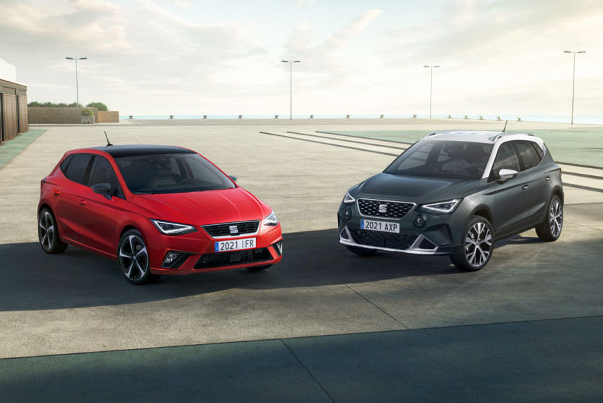 Хэтчбек Seat Ibiza и паркетник Seat Arona обновлены синхронно