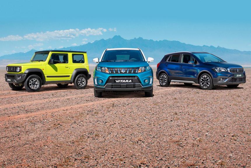 План Suzuki в России — рост продаж на 60% за два года