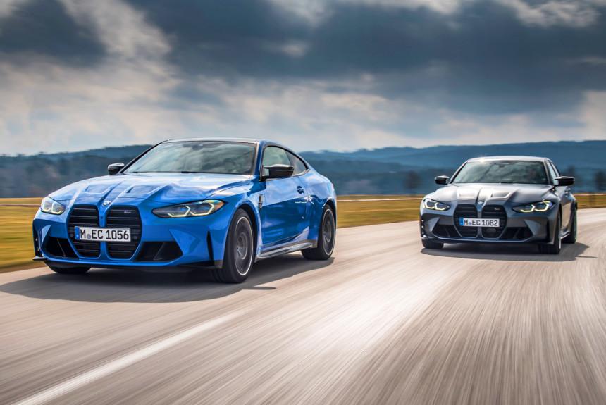 Новые BMW M3 и M4: теперь с полным приводом!