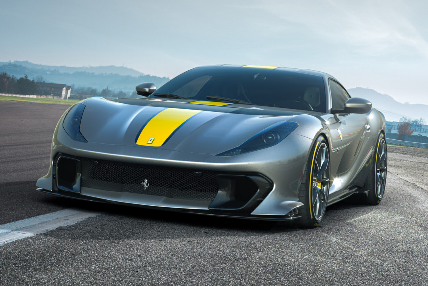 Анонсирован самый мощный суперкар Ferrari с мотором V12