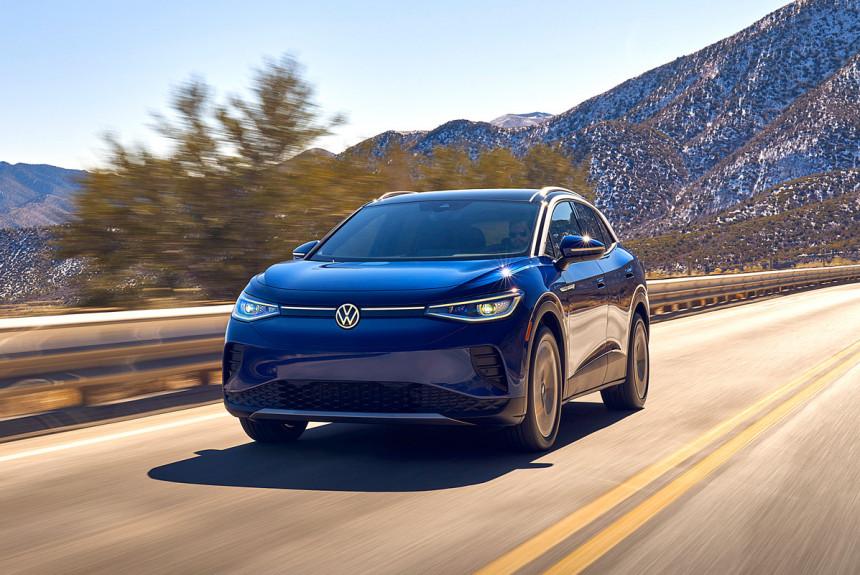 Встречаем электрический Volkswagen ID.4: типичный «народный автомобиль»?