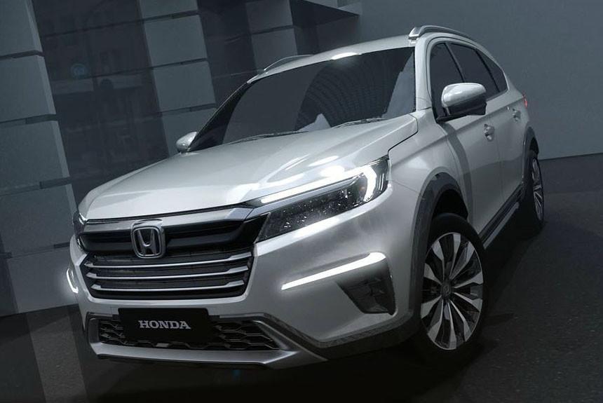 Honda N7X: предвестник семиместного кроссовера