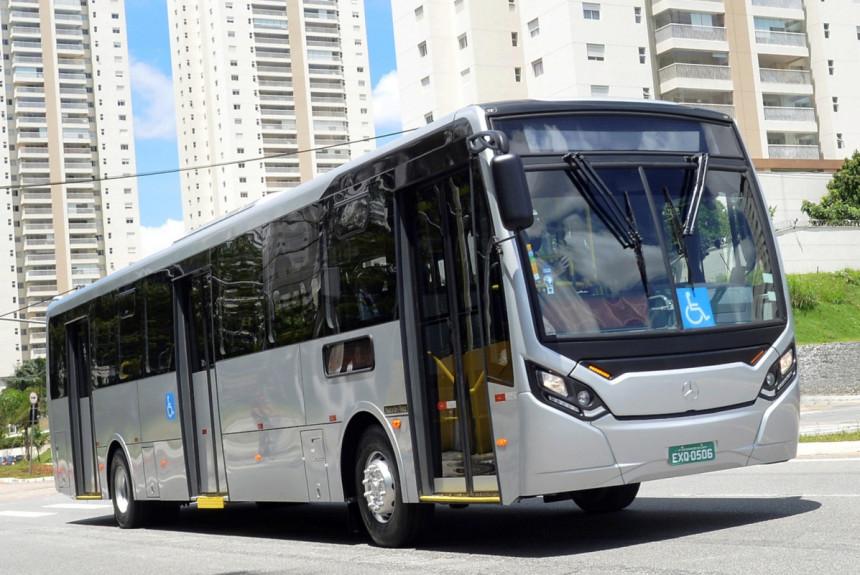 Super Pardon — новое шасси Mercedes для автобусов в Латинской Америке