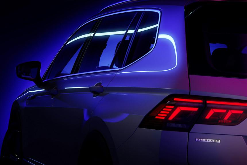 Удлиненный Volkswagen Tiguan Allspace: скоро рестайлинг
