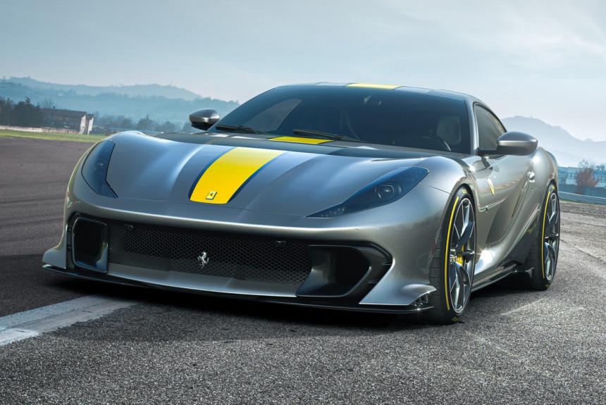 Новая Ferrari 812 Competizione: самый мощный V12 и передовое шасси