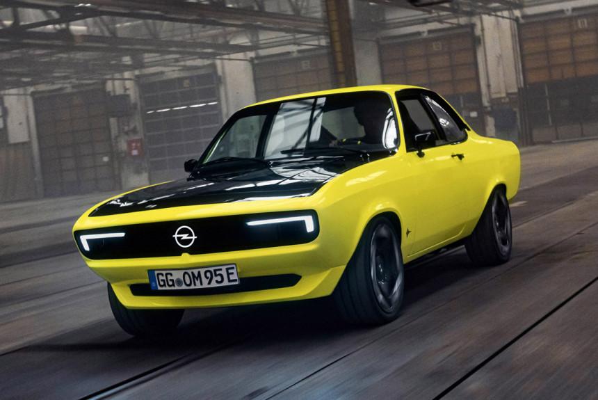 Opel Manta GSe ElektroMOD стал символом электрификации бренда