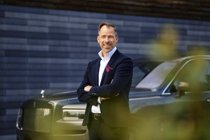 У компании Rolls-Royce снова появился шеф-дизайнер