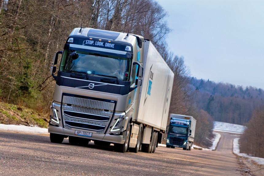 Хюгге из Калуги: испытываем новые Volvo FH и FM российского производства