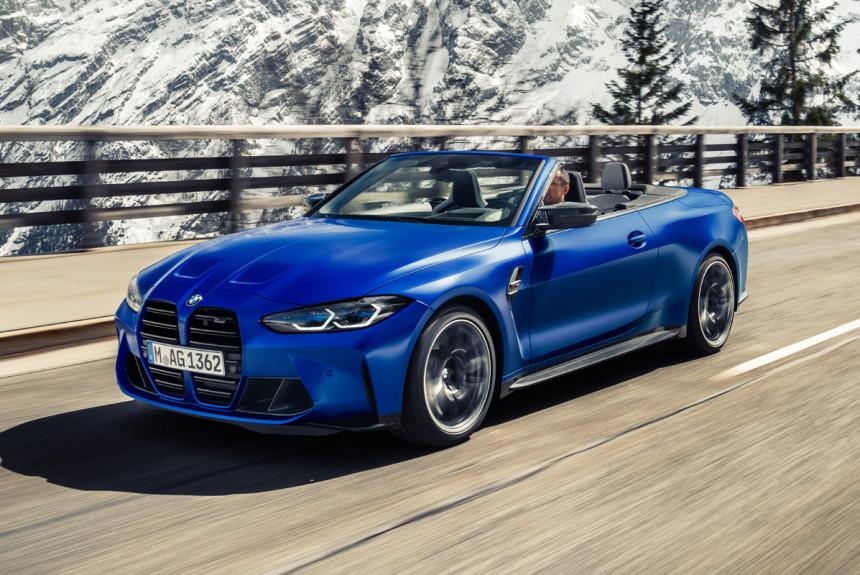 Новый кабриолет BMW M4: только с полным приводом