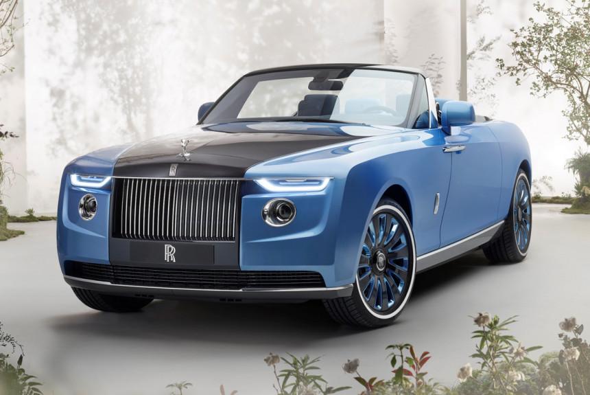 Новый Rolls-Royce Boat Tail: три экземпляра для избранных