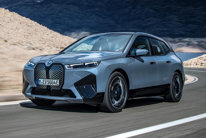 Кроссовер BMW iX: характеристики и цена в России
