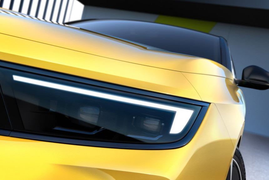 Opel Astra нового поколения: первые тизеры
