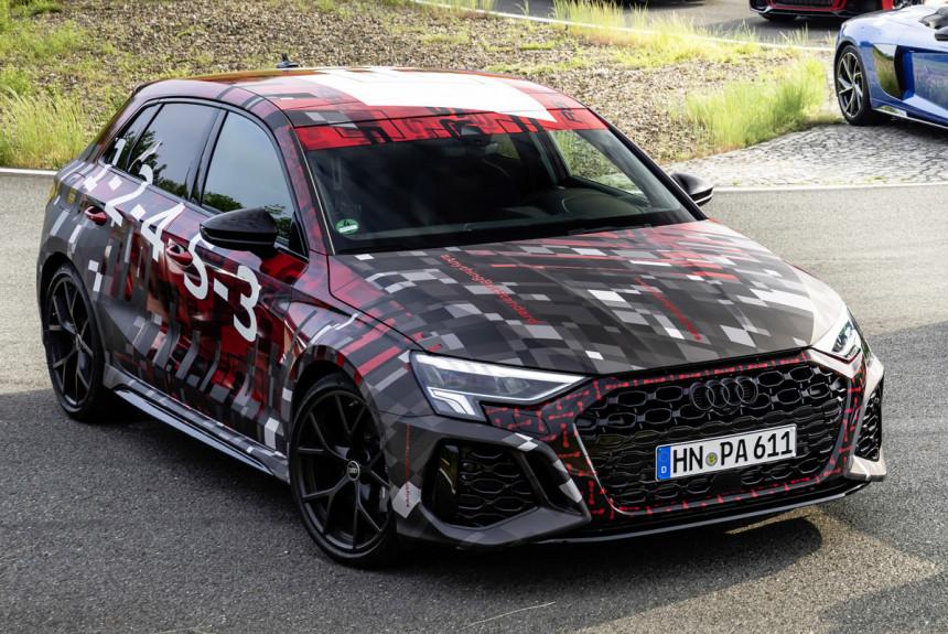 Будущие модели Audi RS 3 и планы подразделения Audi Sport