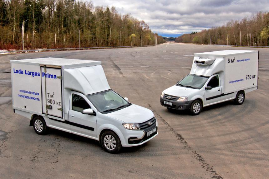 Акселераты: что показали испытания новых фургончиков Prima на базе Ларгусов