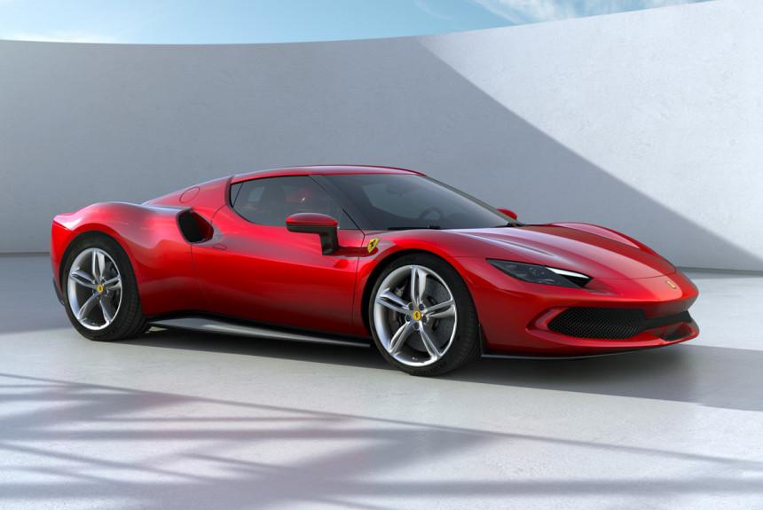 Новый суперкар Ferrari 296 GTB: первая модель с мотором V6