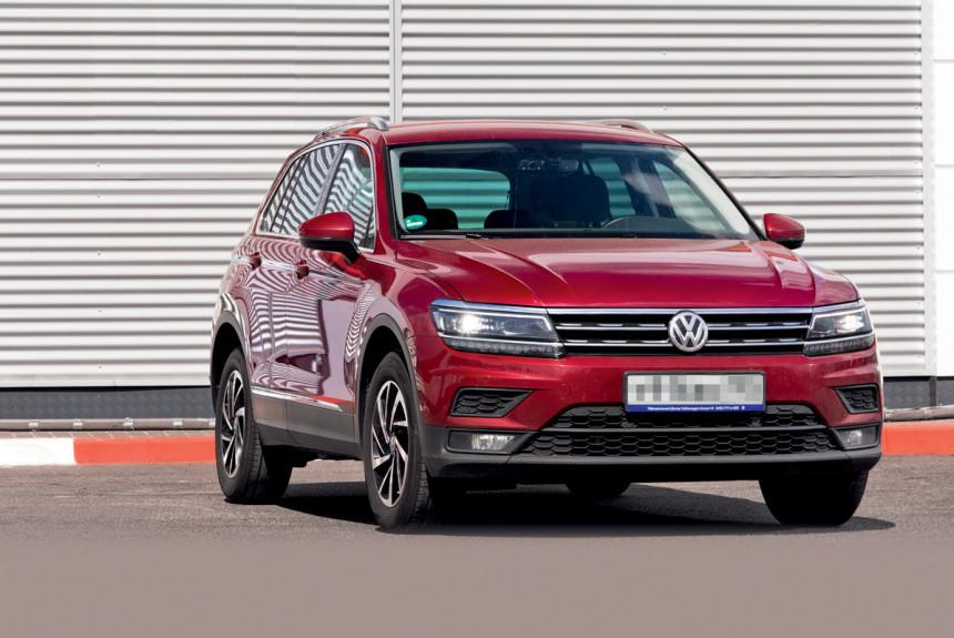 Как чувствует себя Volkswagen Tiguan Ветрова спустя три года