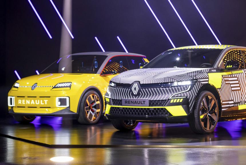 Компания Renault объявила подробности плана электрификации