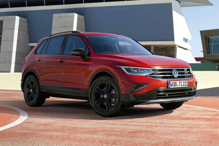 Volkswagen Tiguan: новая версия Urban Sport для Европы и России