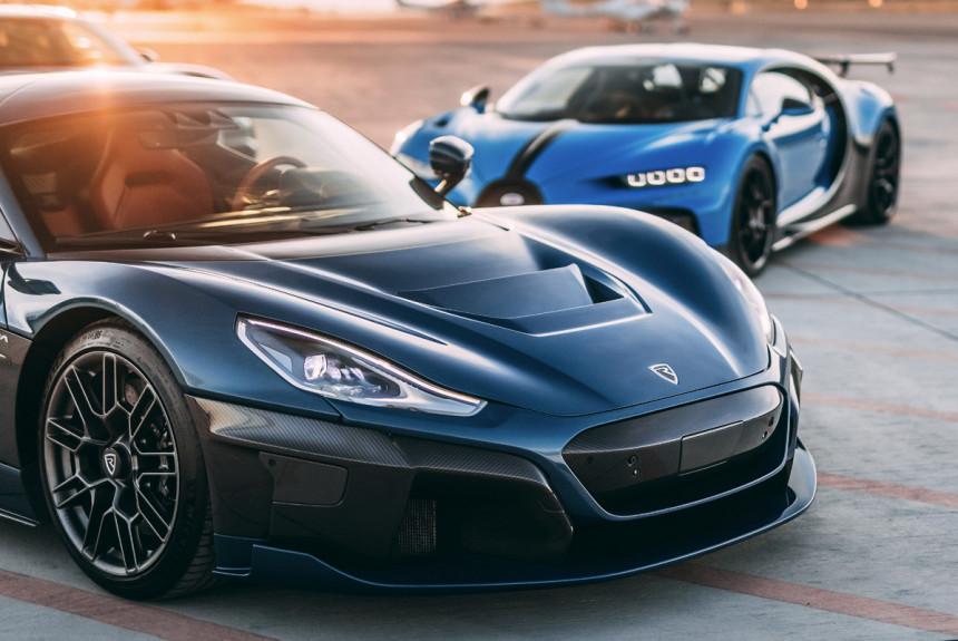 Volkswagen наигрался в Bugatti: образовано СП Bugatti-Rimac