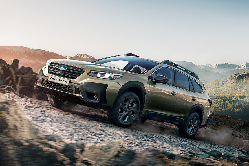 Subaru Outback нового поколения: цены в России