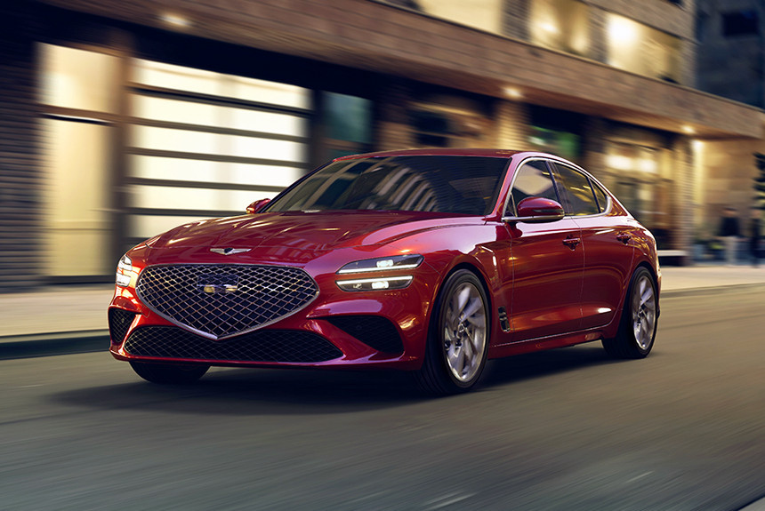 Объявлены цены на рестайлинговые седаны Genesis G70
