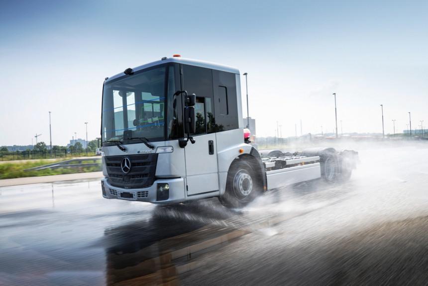 Mercedes eEconic — техническая информация и дальнейшие перспективы
